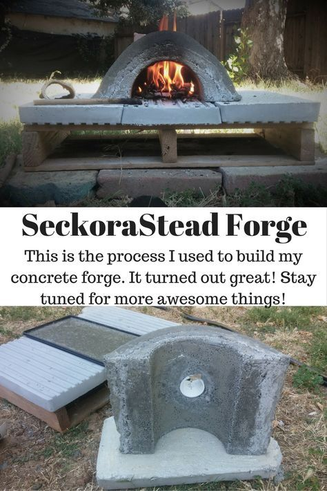 Building Our Forge (With images)   Forging