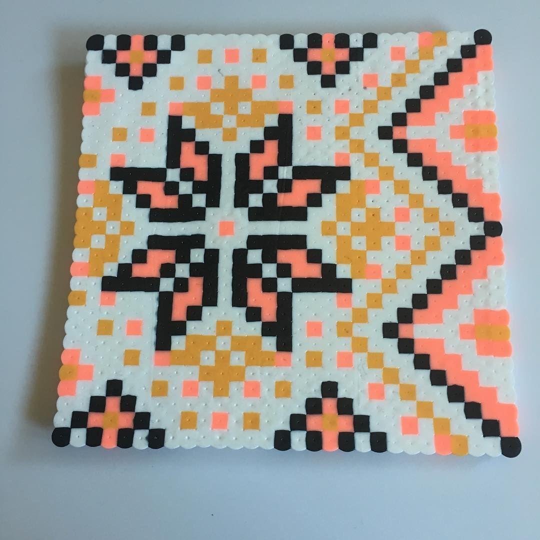Perlerbeads On Instagram Square Pattern Perler Hama Beads