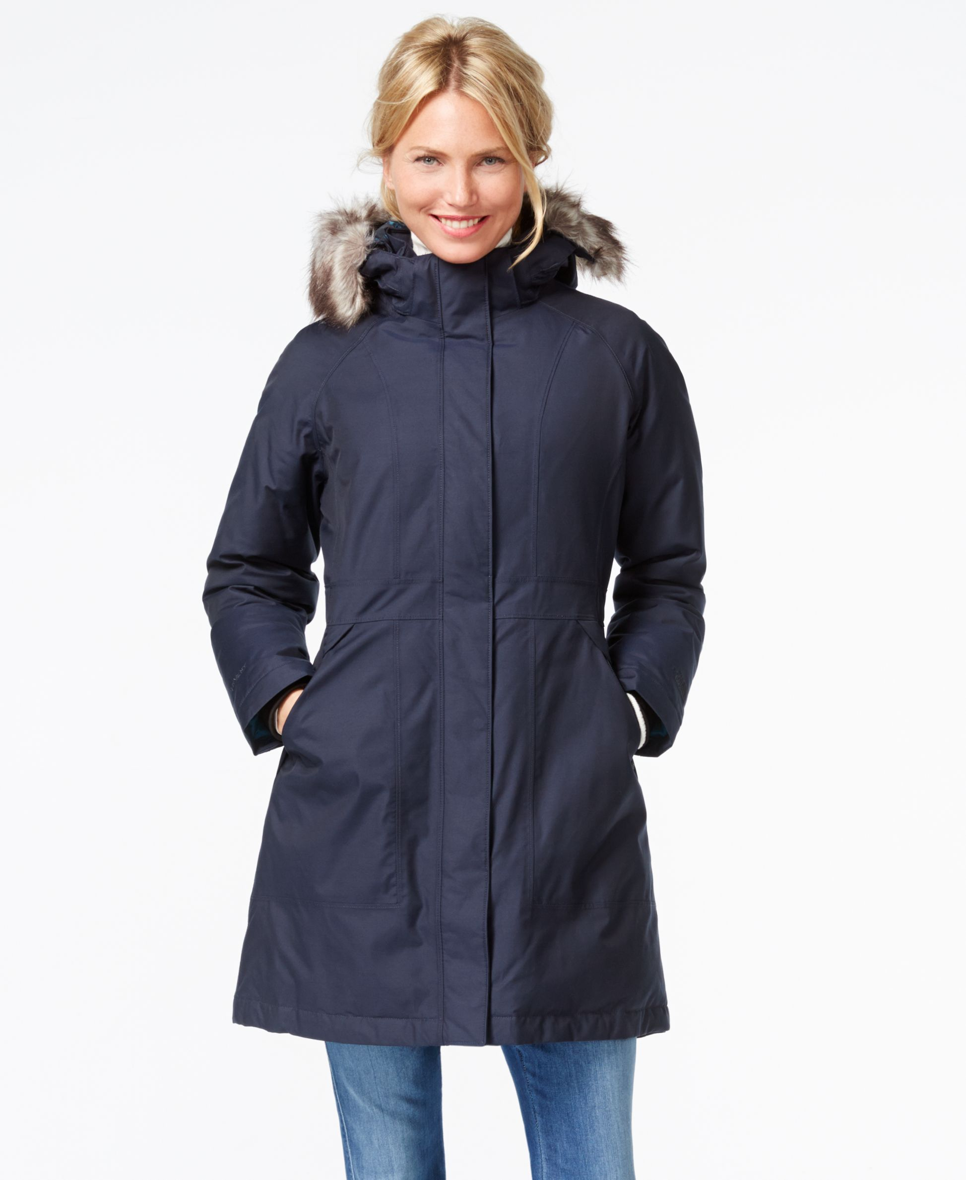 56d53bef7 The North Face Arctic Faux-Fur Trimmed Parka | Products | Blazer ...