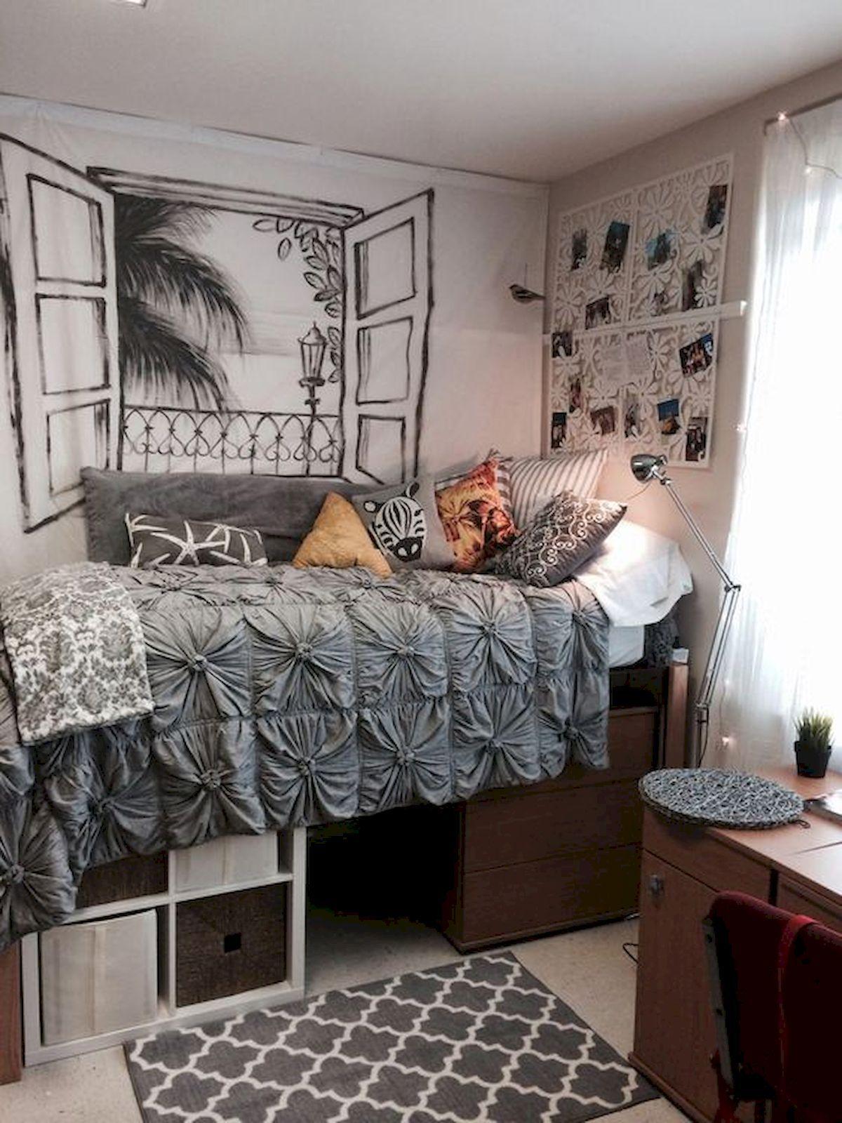 fantastic college bedroom decor ideas and remodel design dorm room also rh pinterest