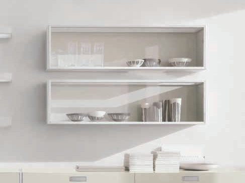 Horizontal Wall Cabinet With Glass Door Frame Wall Cabinet Alivar Glass Kitchen Cabinets Glass Cabinets Display Glass Cabinet Doors