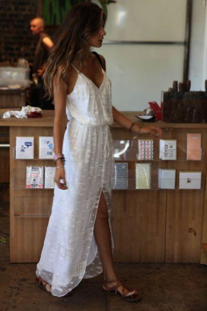 white dress. so pretty.