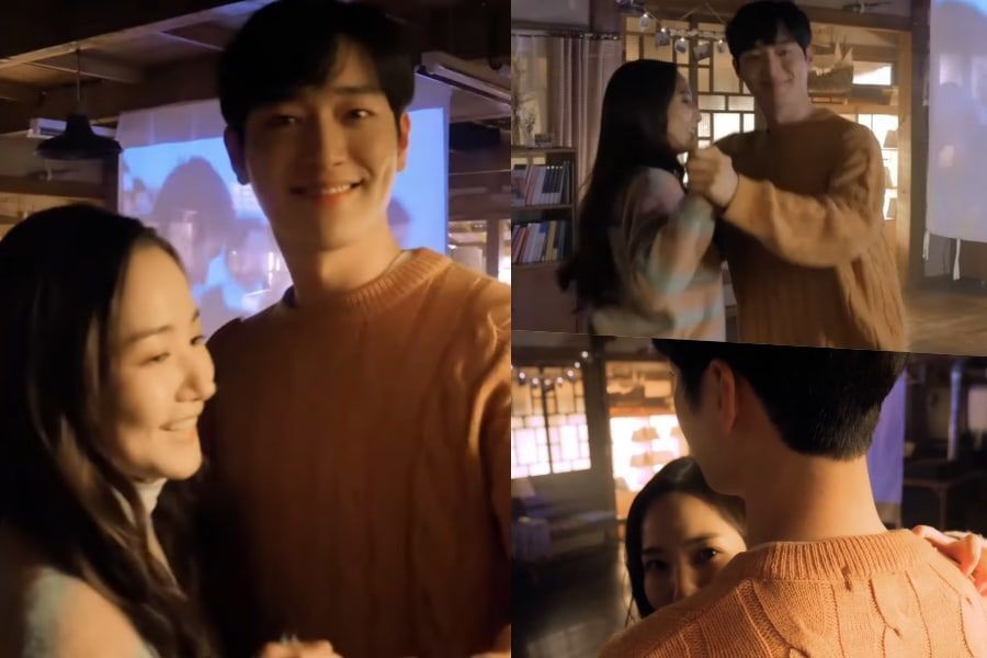 "Watch: Park Min Young And Seo Kang Joon Learn How To Waltz Behind The Scenes Of ""I'll Go To You When The Weather Is Nice"""