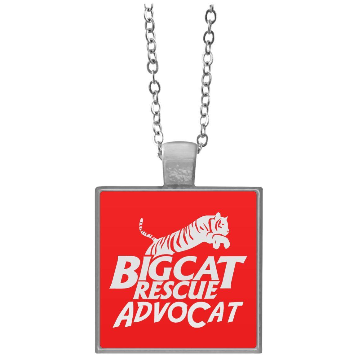 Logo AdvoCat Square Necklace