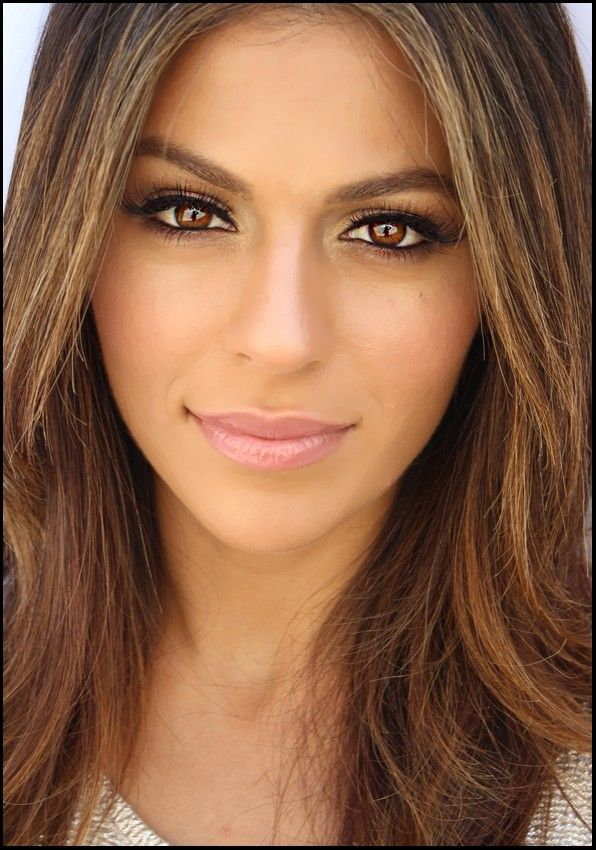 Wedding Makeup For Brunettes With Brown Eyes - Google -6628