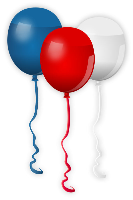Free 4th Of July Clipart Independence Day Graphics 4th Of July Clipart Homemade Invitations Balloons