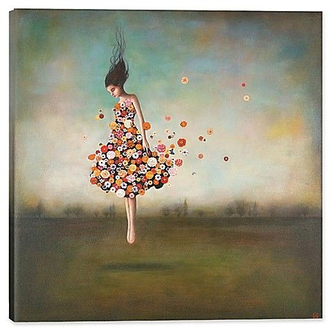 icanvas duy huynh 37 inch square boundlessness in bloom on icanvas wall art id=98487