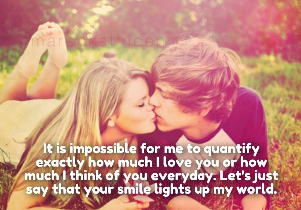 Beautiful Romantic How Much I Love U Quotes Her Him