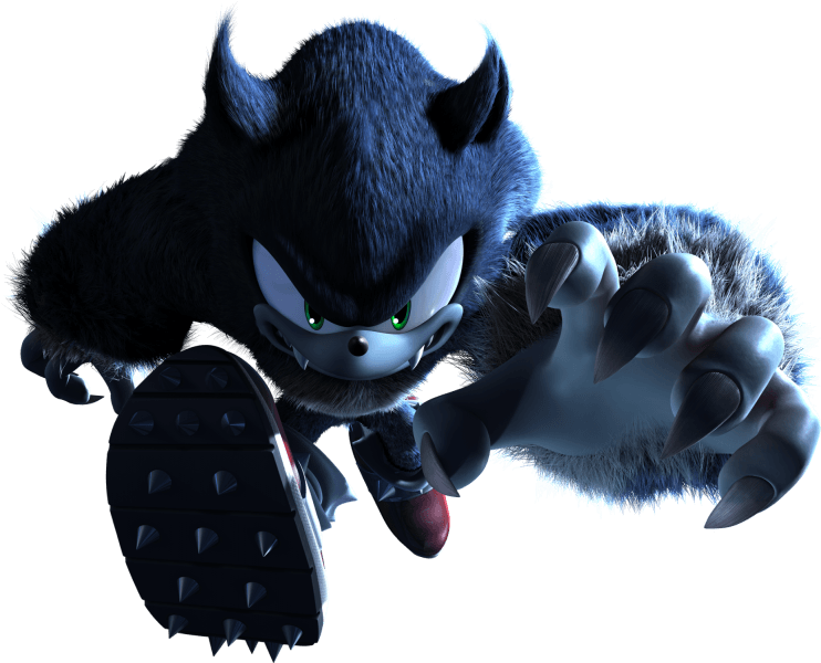 Werehog From The Official Artwork Set For Sonicunleashed Sonic Http Sonicscene Net Sonic Unleashed Sonic Unleashed Classic Sonic Sonic