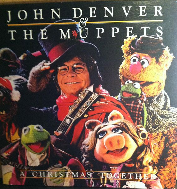 john denver the muppets a christmas together vinyl childrens