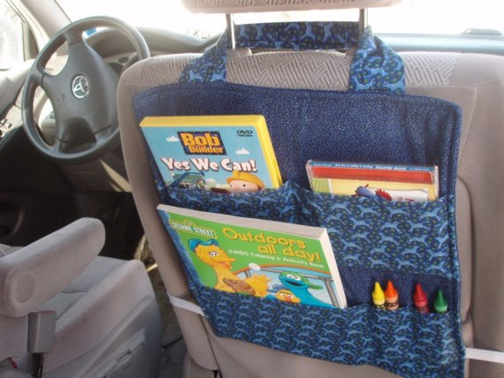 Car Seat Organizer - PDF SEWING PATTERN - Instant Download -by ...