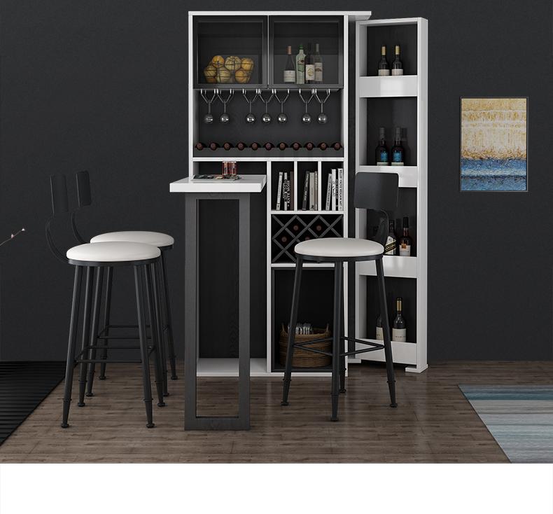 Buy Nordic Wall Folding Bar Table Modern Minimalist Home Foldable Telescopic Small Bar Table Living Room Wine C Bar Table Bar Table And Stools Wine Bar Cabinet