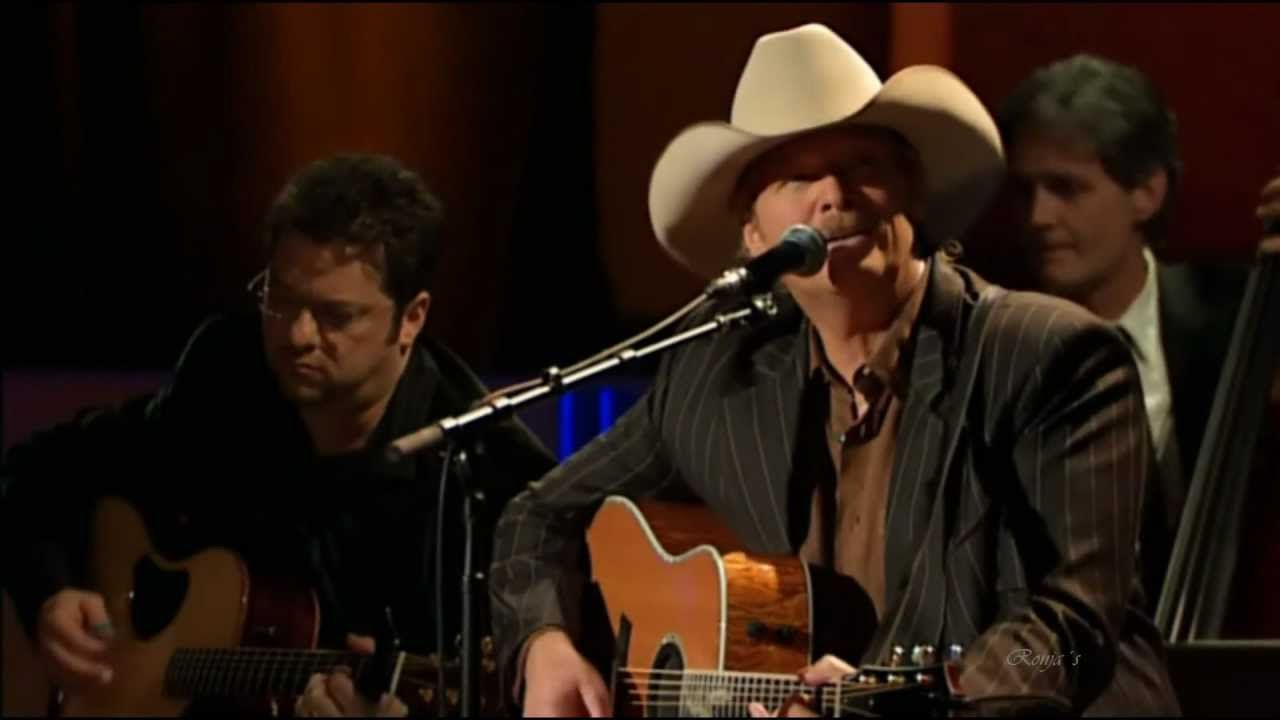 Alan Jackson I Want To Stroll Over Heaven With You Live