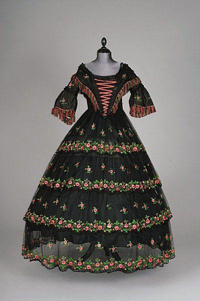 Dress,  1855