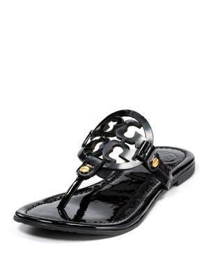 1a84838883a9 Tory Burch Miller Black Tory Burch Sandals