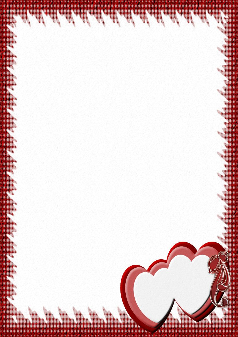 Free Stationery Com Valentines Day A4 Template Downloads Menu Template Business Card Templates Download Card Templates Free