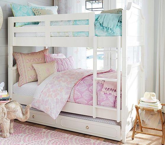 Ava Regency Twin Over Twin Bunk Bed Twin Bunk Beds Kids Bunk