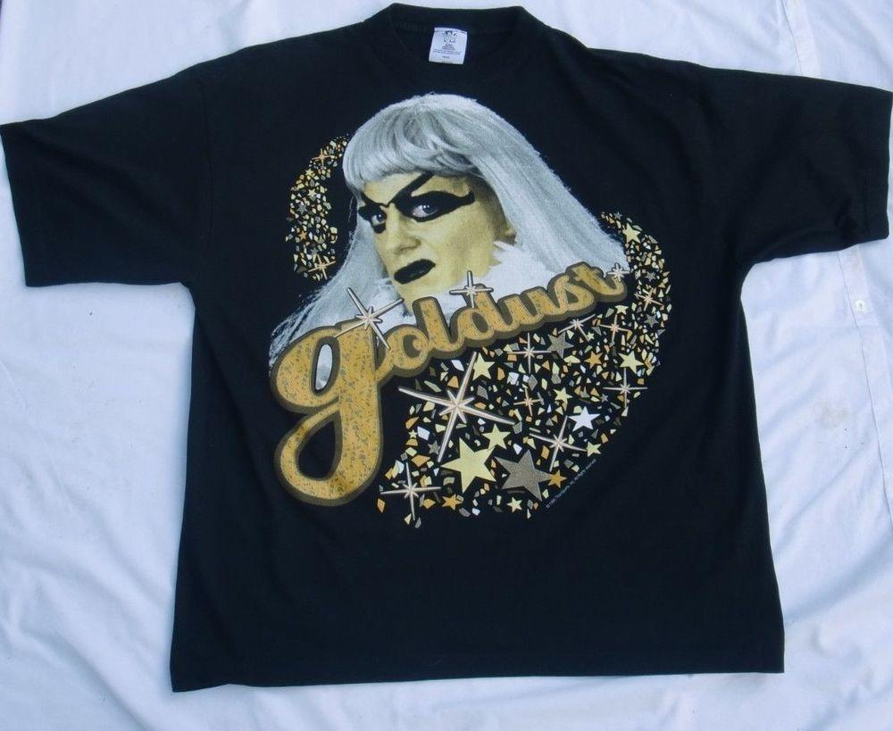 Rare Vintage 1996 Wwf Goldust T Shirt Free Size Large Christmas Present Free Shirts Shirts Free Size