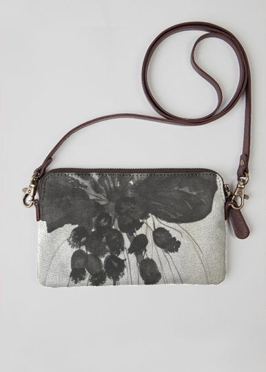 VIDA Statement Clutch - waterlillies by VIDA q7yOXF