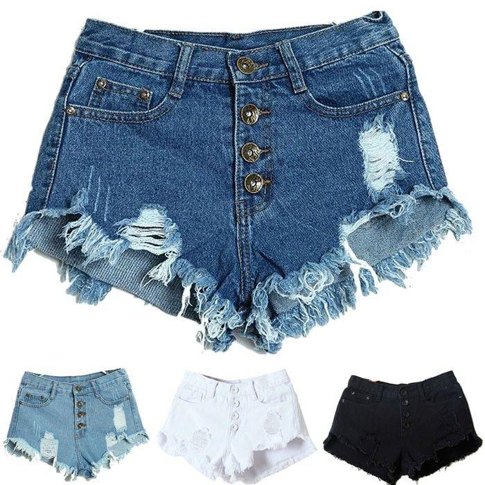 Shorts Jeans Lady Fashion Slim Fit Bore  470f83063fe