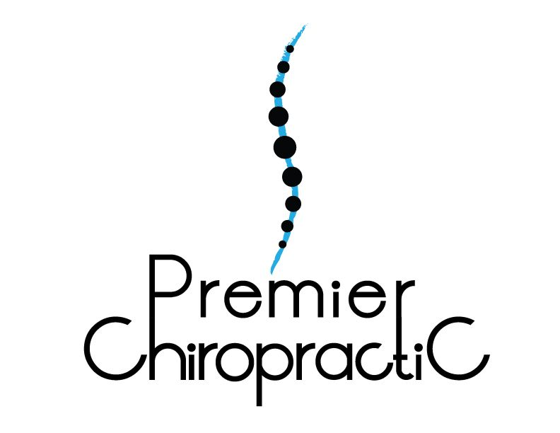 the official logo of premier chiropractic in davenport ia the rh pinterest com chiropractic logos designs chiropractic logos designs free