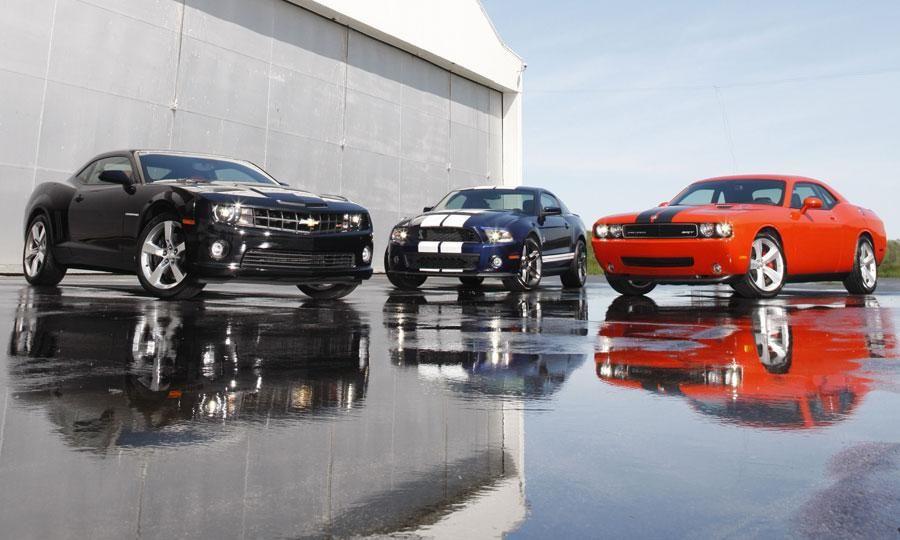 Chevy Camaro Vs Ford Mustang Vs Dodge Challenger