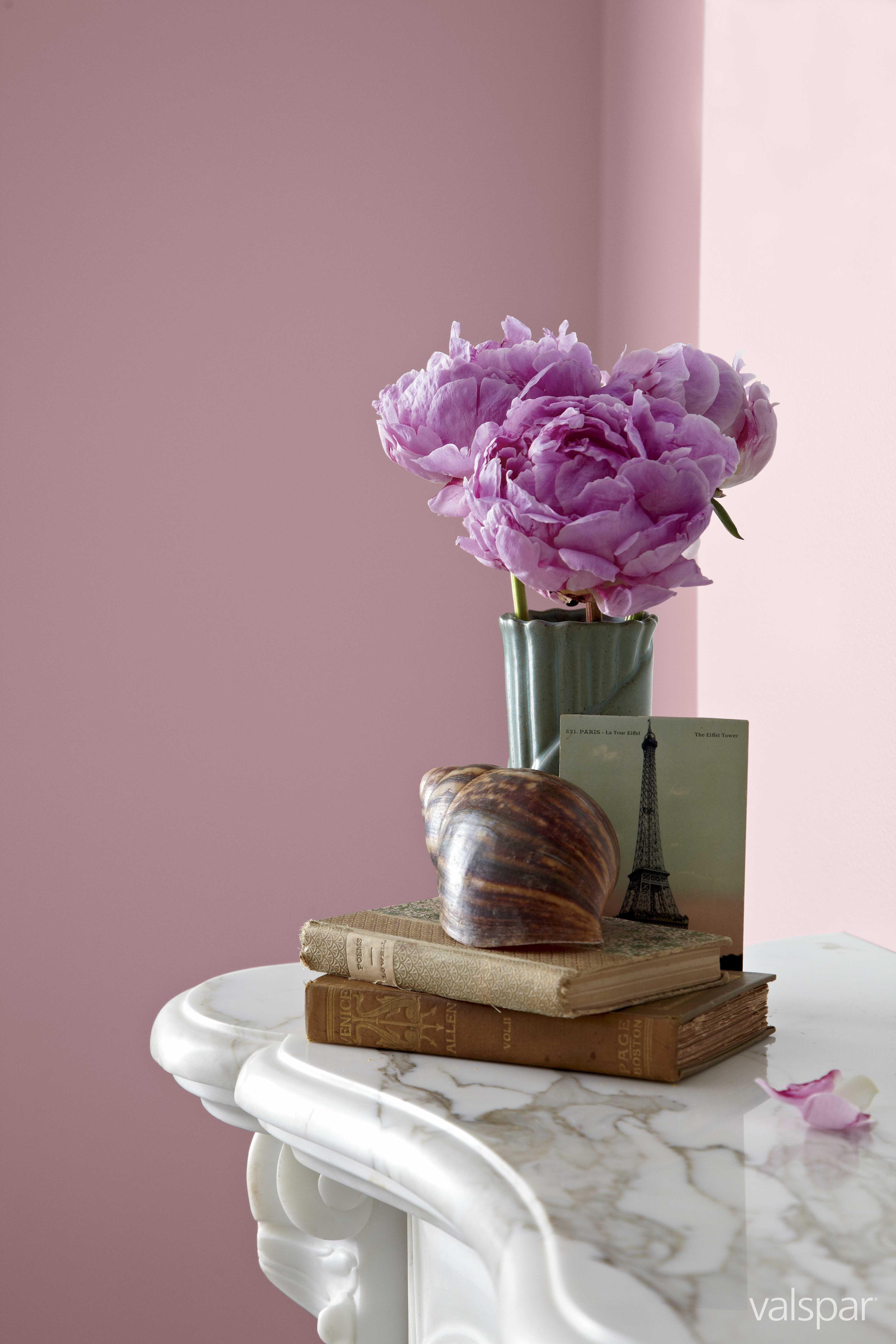 A Gorgeous Pale Pink In Valspar Brazilian Rose Valspar