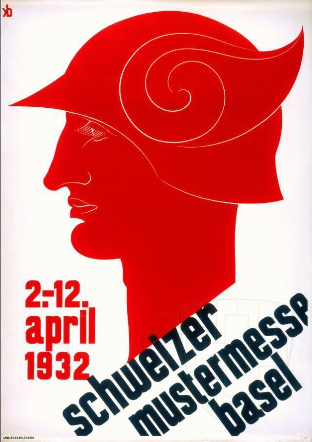 El pintor y grabador Carl Wendolin Scherer (Basilea, 1890 – Zúrich, 1953) fue el autor del cartel de la edición de 1929 de la Schweizer Mustermesse Basel.