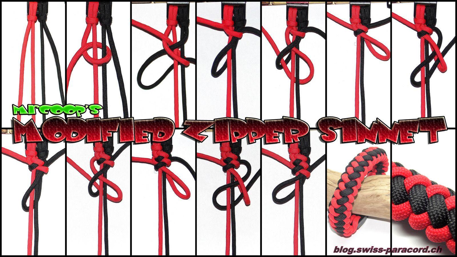 modified zipper sinnet armband paracord pinterest kn pfen schmuck accessoires und armb nder. Black Bedroom Furniture Sets. Home Design Ideas