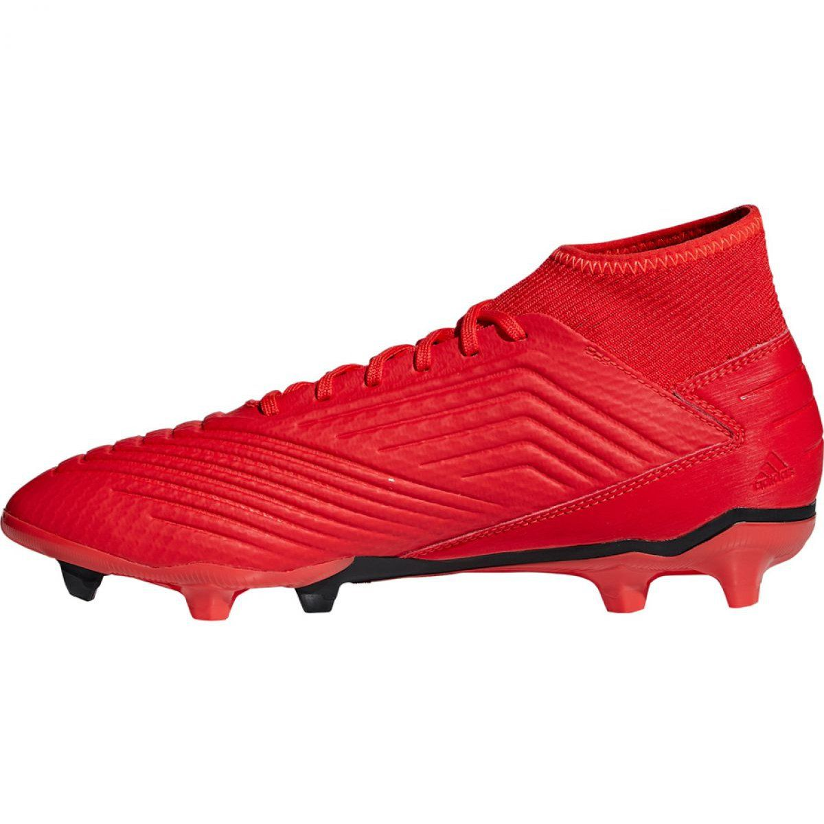 Football Boots Adidas Predator 19 3 Fg M Bb9334 Mens Football Boots Football Boots Shoes Mens