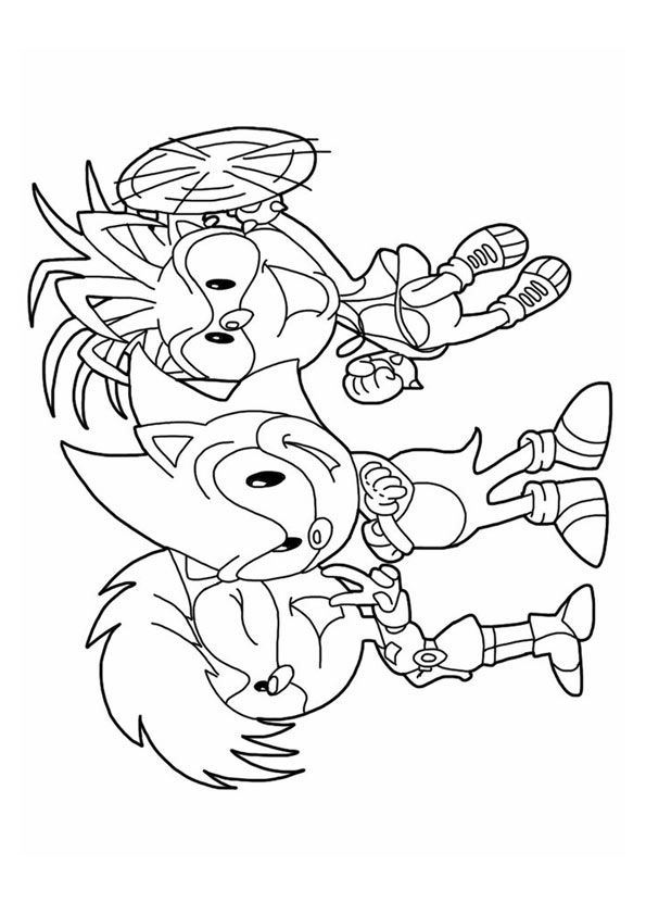 Top 20 Sonic The Hedgehog Coloring Pages For Your Little Ones