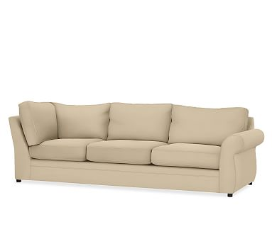 Pearce Upholstered Right Return Sofa, Down Blend Wrapped Cushions ...