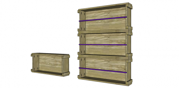 Free DIY Furniture Plans to Build an Ammo Box Inspired Magazine Holder | The Design Confidential