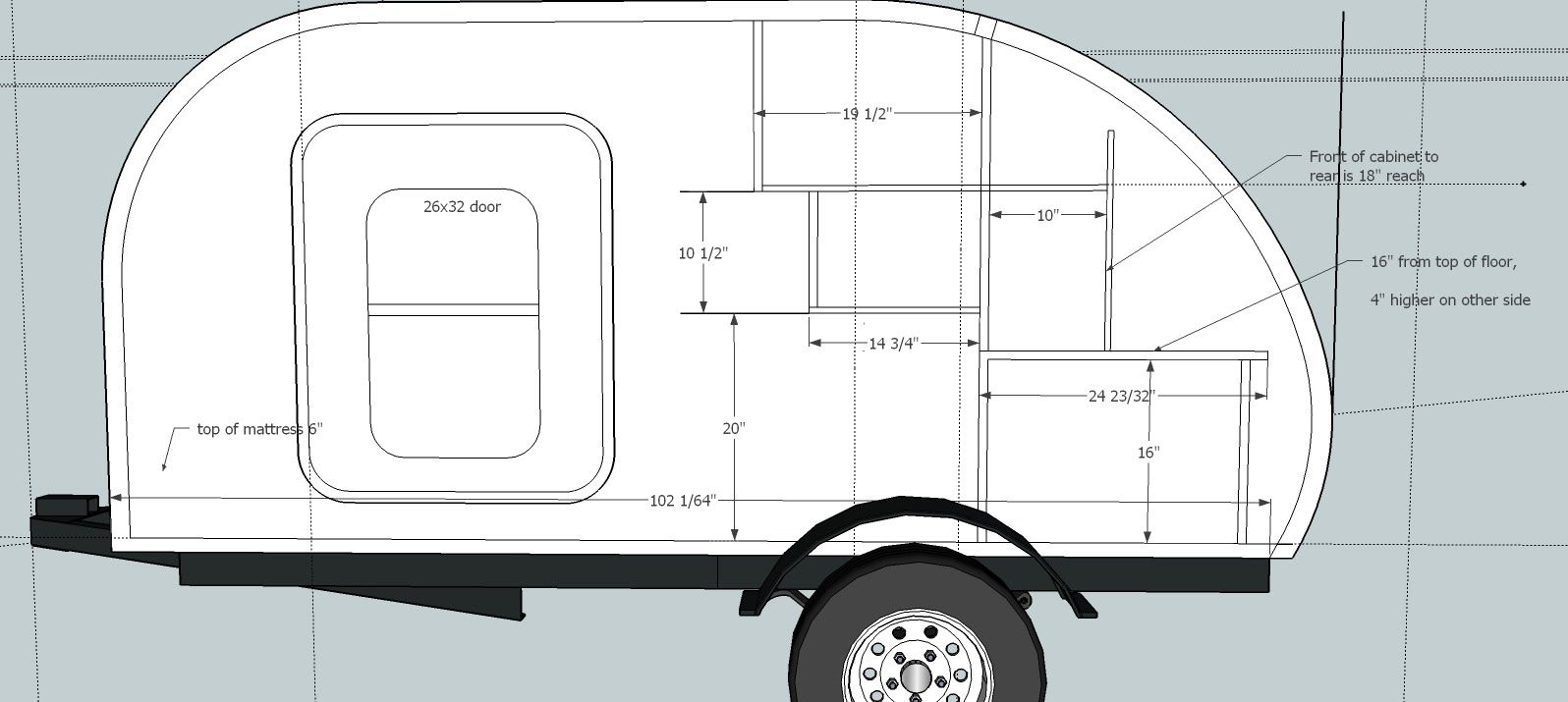 How to Build a Teardrop Camper #1 - The Template - YouTube | Tear