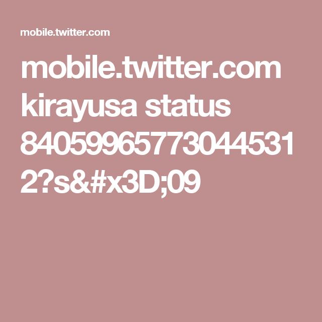 mobile.twitter.com kirayusa status 840599657730445312?s=09