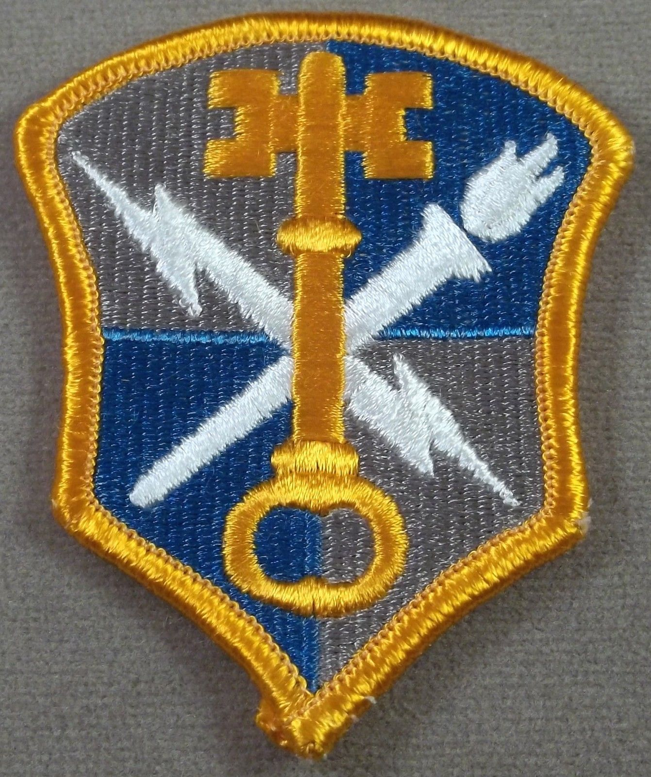 Details About Us Army Intelligence & Securitymand Full Color Merrowed  Edge Patch