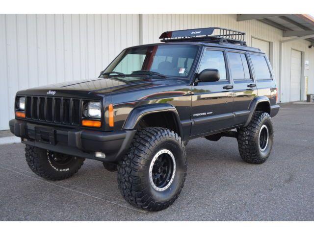 2001 Jeep Cherokee Sport 4x4 Xj Fully Built 4 5 Zone Lift Bfg 33 S