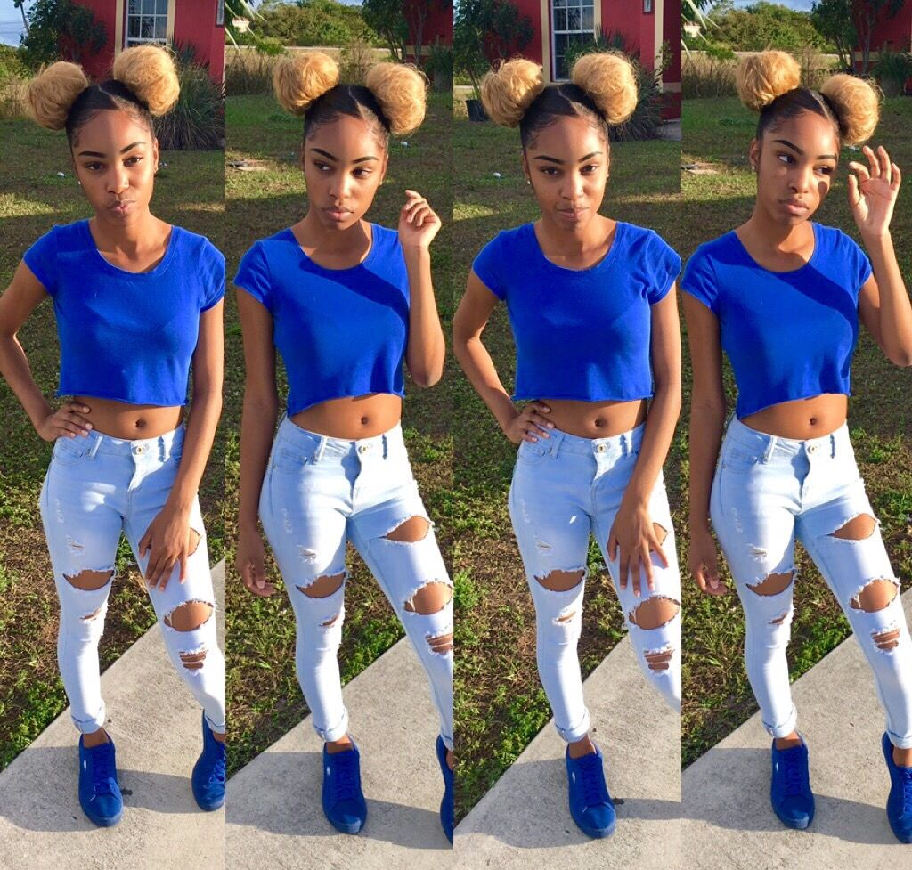 Black Girl Swag Outfits: @simplydabbin ♛Qⓤⓔⓔⓝⓢ♕