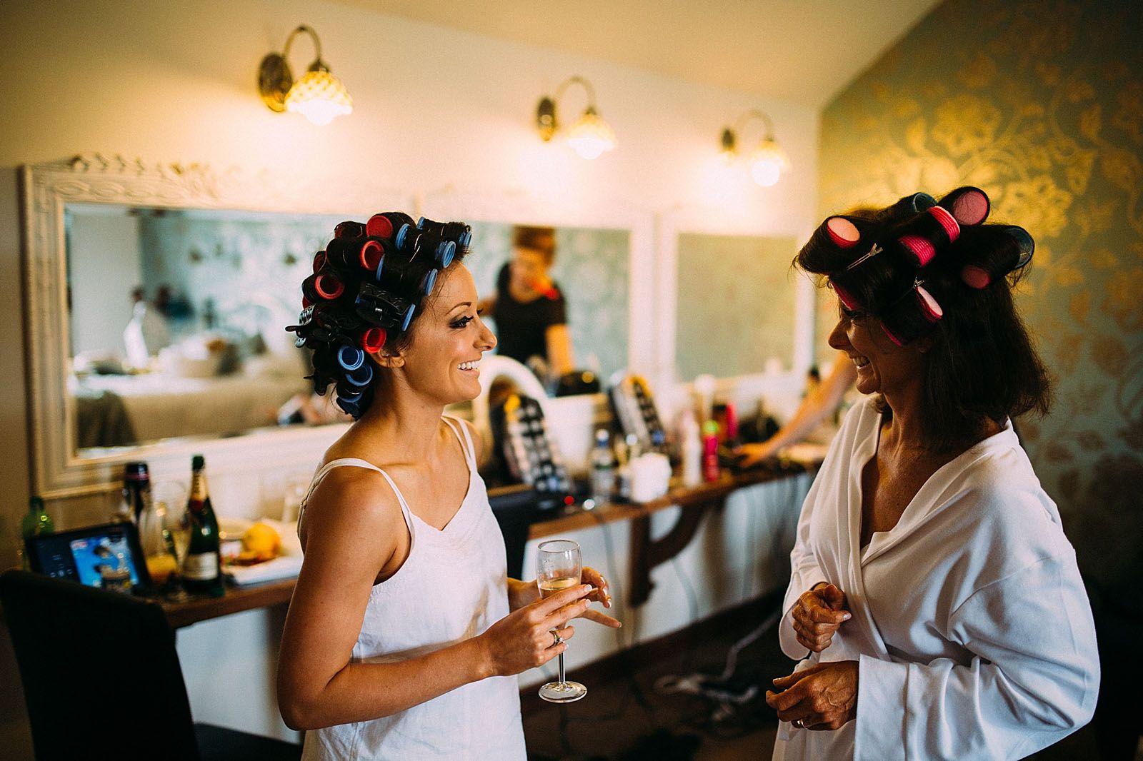 Heaton House Farm Wedding Venue Cheshire Lawson Photography Bridal Preparation Room