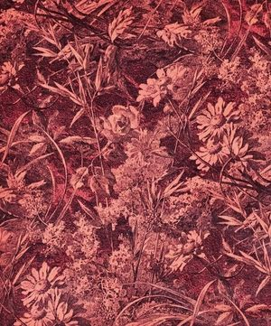 Royal Daisy Cotton Velvet in Velvet Blush carpet Pinterest