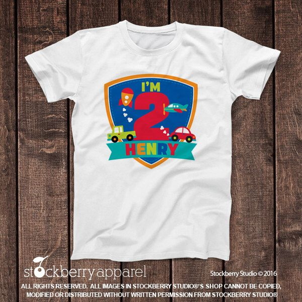 Boy 2nd Birthday Shirt