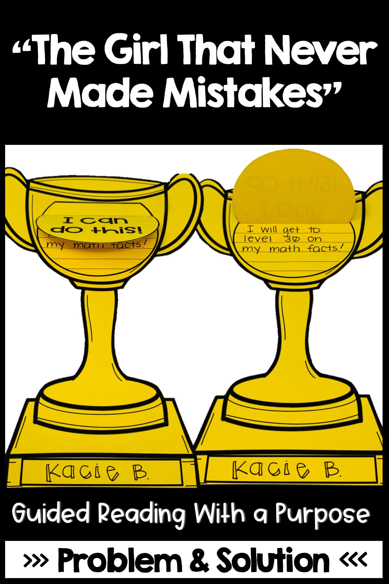 The Girl Who Never Made Mistakes Guided Reading Problem