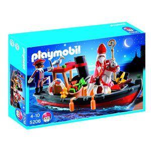 Playmobil® Stoomboot van Sint en Piet 5206 #sintenpiet Playmobil® Stoomboot van Sint en Piet 5206 #sintenpiet