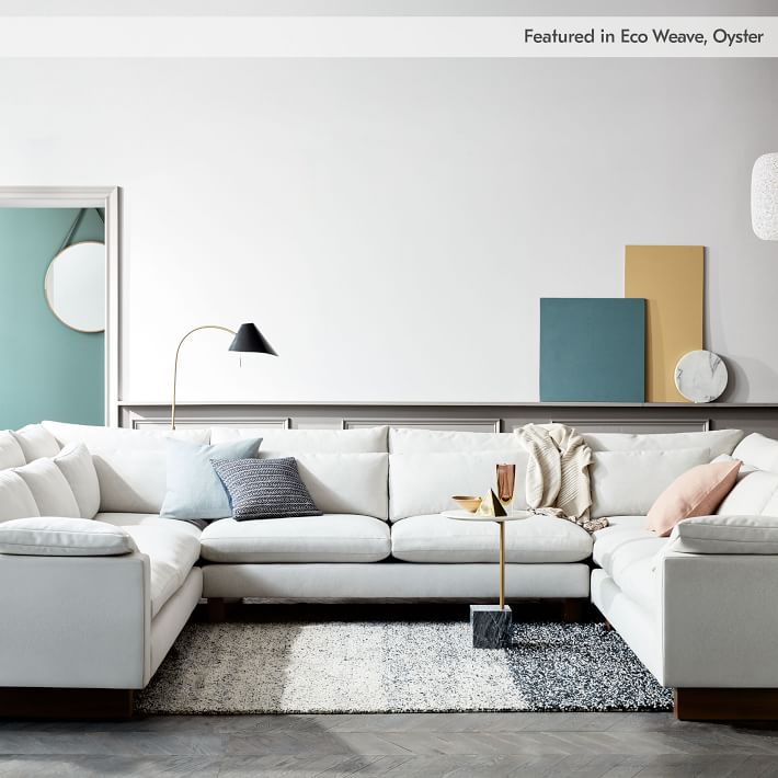 Build Your Own Harmony Sectional Pieces Extra Deep West Elm