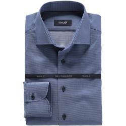 Photo of Olymp Signature Shirt, Tailored Fit, Signature Kent, Smoky Blue, 40 Olymp