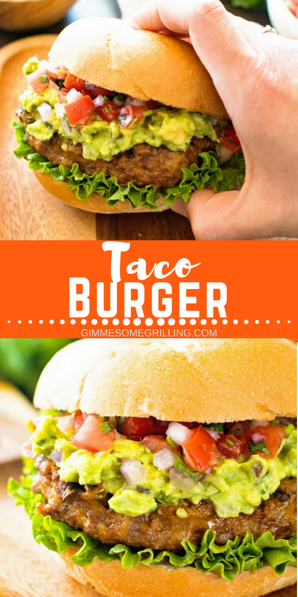 Photo of Delicious, juicy taco burgers! – Dinner Ideas – #