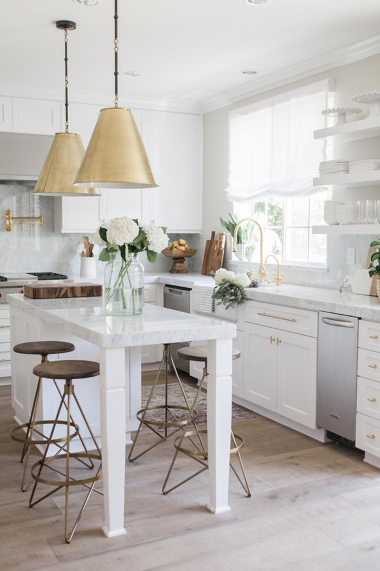Arteriors Home Wyndham Natural Wax Counter Stool | Pinterest