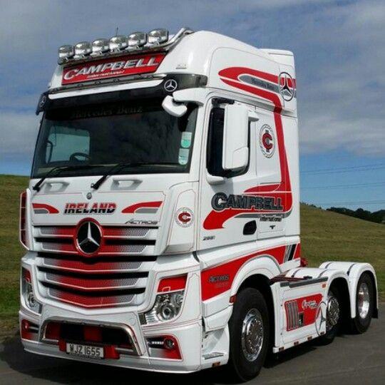 Mercedes Benz Actros Mp4 Gigaspace Camiones Personalizados
