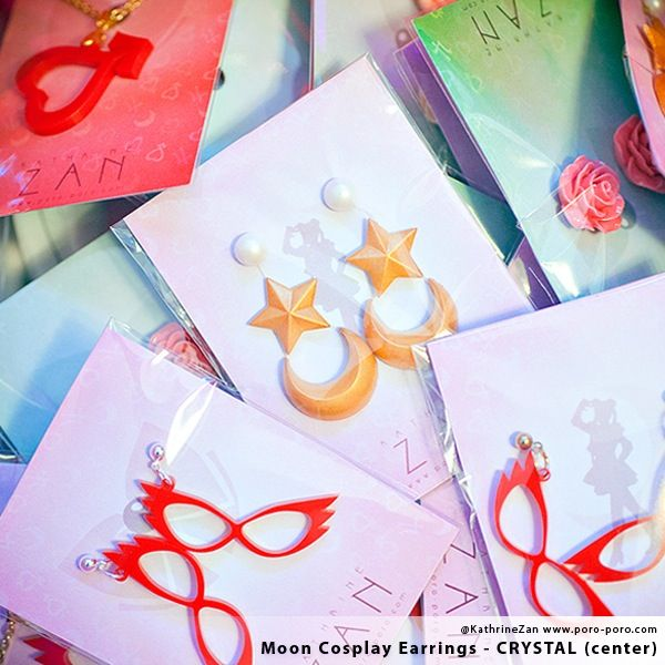 Image of Moon Cosplay Earrings