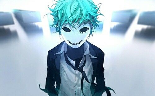 Anime Guy Wearing Mask Cool Anime Guys Fisheye Placebo Anime Guys